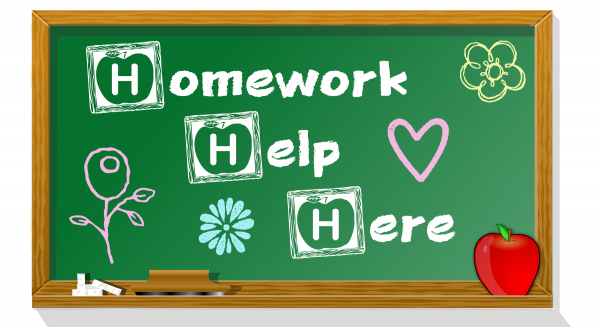 FALL HOMEWORK HELP SCHEDULE  2018-2019