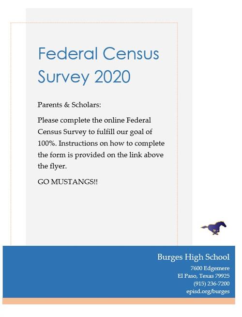 Federal Census Survey 2020