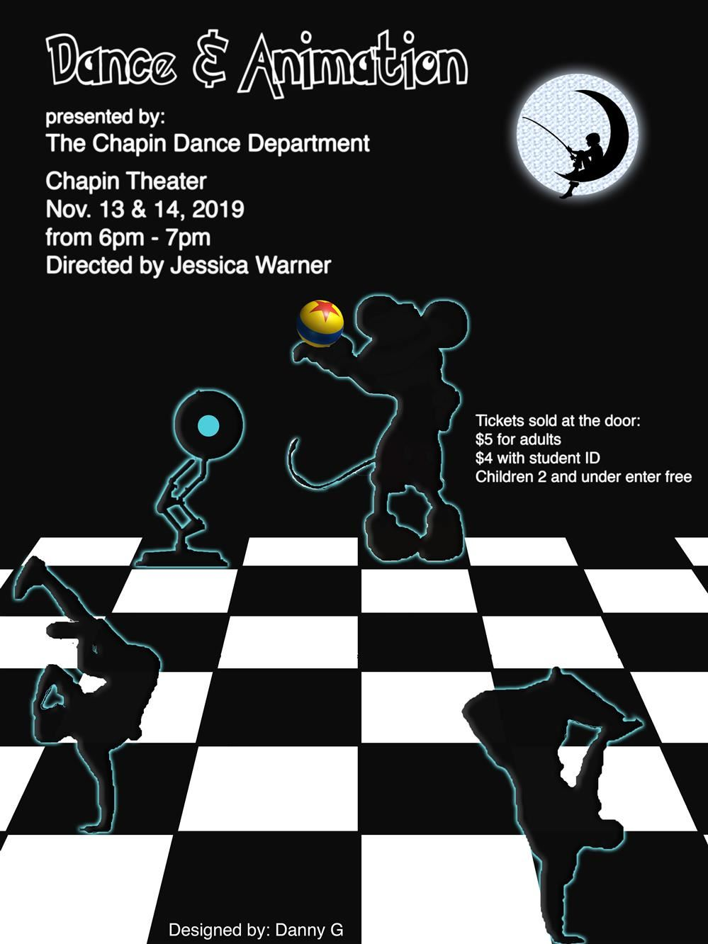 Chapin Fall Dance Recital 13 Nov -14 Nov