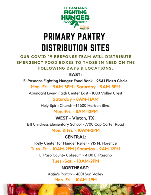Pantry Sites