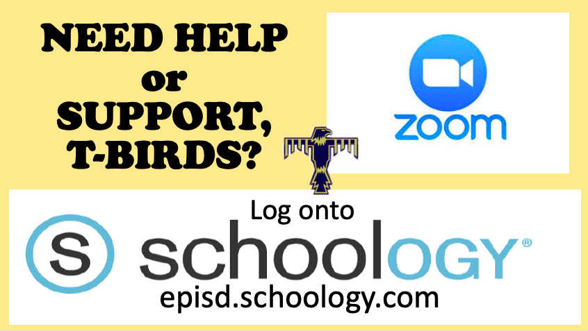 Need Help with ZOOM or Schoology?