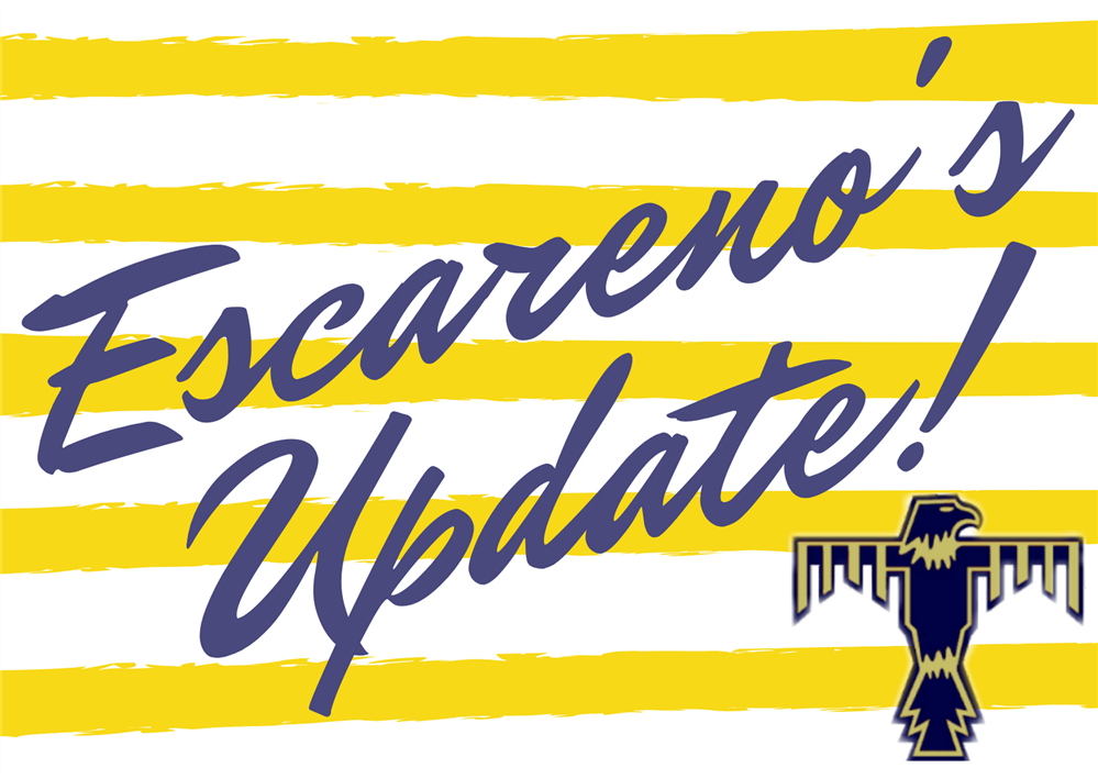 End of Year Update from Principal, Mr. Marc Escareno