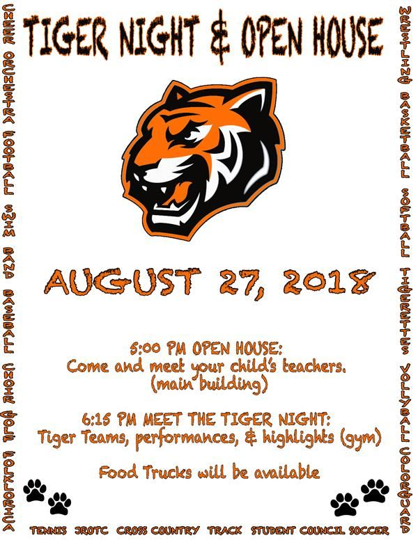 Tiger Night & Open House