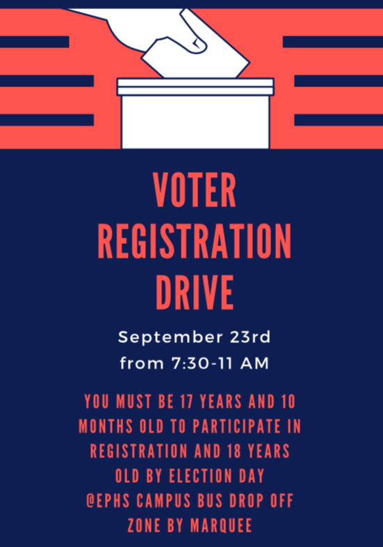 Voter Registration Drive Info