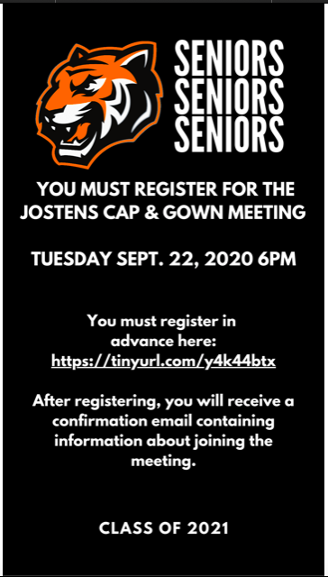 ATTENTION SENIORS!!
