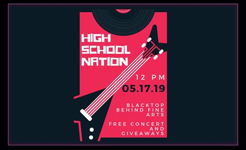 High school nation free concert