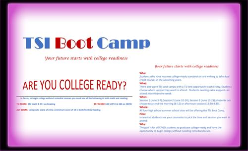 TSI Boot Camp