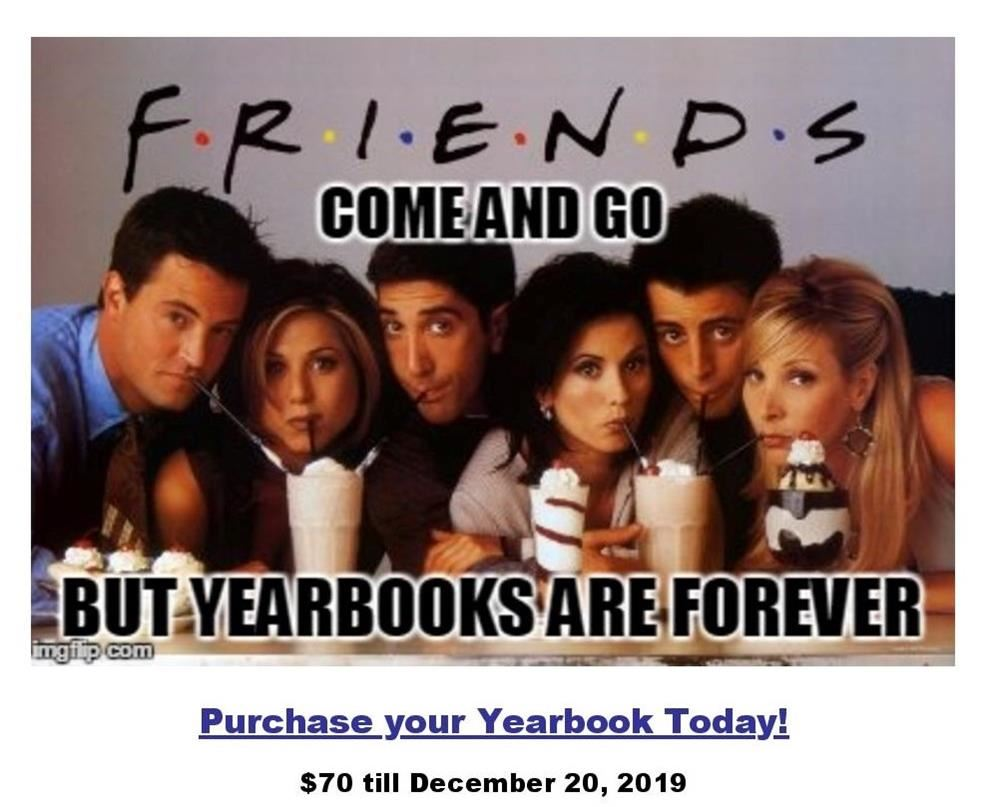 Hey Foxes!  Purchase your Yearbook Today!