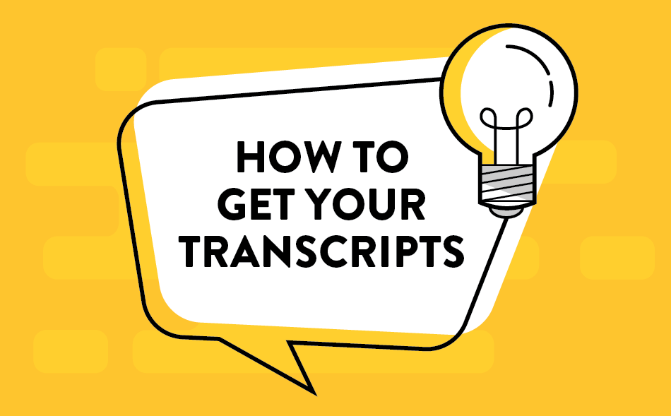How to requests transcripts.