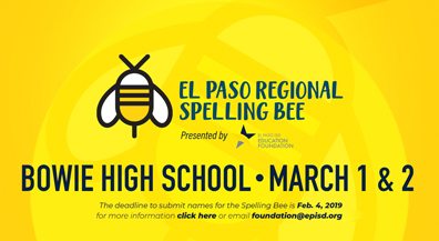 EPISD Education Foundation presents the El Paso Regional Spelling Bee
