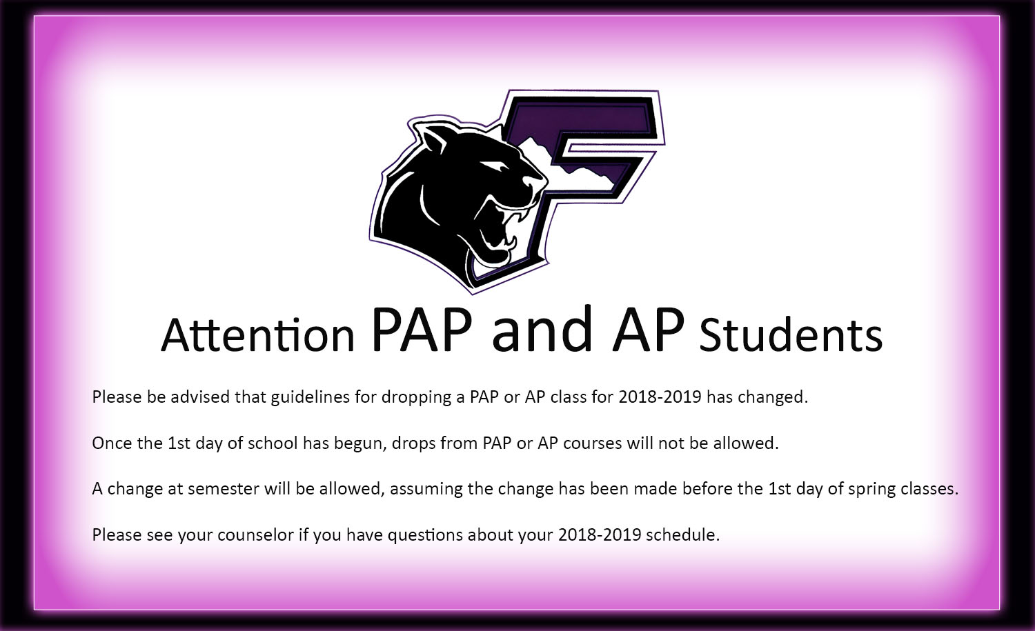 Franklin high school homepage registration information eoc scores ap announcement fandeluxe Choice Image